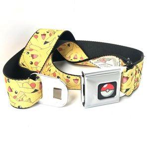 Pokémon Pikachu seatbelt buckle belt
